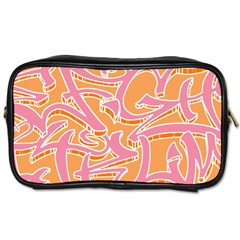 Abc Graffiti Toiletries Bags