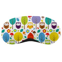Cute Owl Sleeping Masks by Nexatart