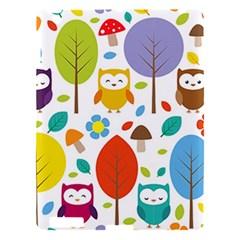 Cute Owl Apple Ipad 3/4 Hardshell Case by Nexatart