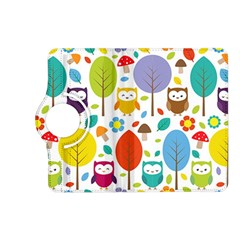 Cute Owl Kindle Fire Hd (2013) Flip 360 Case by Nexatart