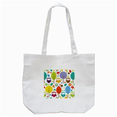 Cute Owl Tote Bag (white)