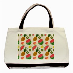 Fruits Pattern Basic Tote Bag by Nexatart