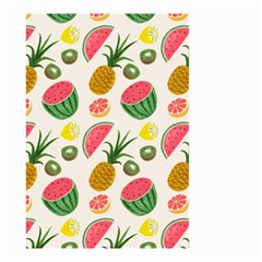 Fruits Pattern Small Garden Flag (two Sides) by Nexatart