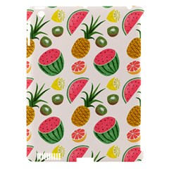 Fruits Pattern Apple Ipad 3/4 Hardshell Case (compatible With Smart Cover)