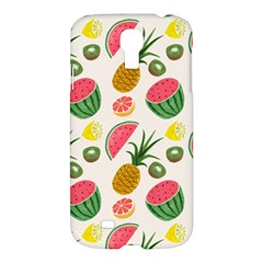 Fruits Pattern Samsung Galaxy S4 I9500/i9505 Hardshell Case by Nexatart