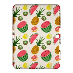 Fruits Pattern Samsung Galaxy Tab 4 (10 1 ) Hardshell Case