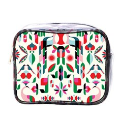 Abstract Peacock Mini Toiletries Bags by Nexatart