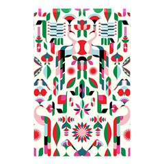 Abstract Peacock Shower Curtain 48  X 72  (small)  by Nexatart