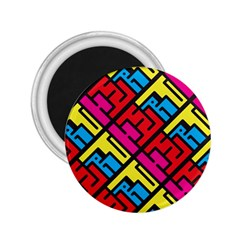 Hert Graffiti Pattern 2 25  Magnets by Nexatart