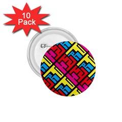 Hert Graffiti Pattern 1 75  Buttons (10 Pack)
