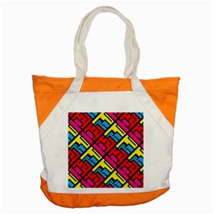 Hert Graffiti Pattern Accent Tote Bag