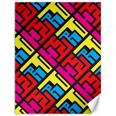 Hert Graffiti Pattern Canvas 12  X 16
