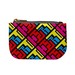 Hert Graffiti Pattern Mini Coin Purses
