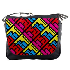Hert Graffiti Pattern Messenger Bags