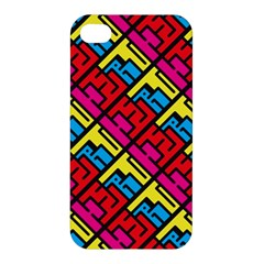 Hert Graffiti Pattern Apple Iphone 4/4s Premium Hardshell Case