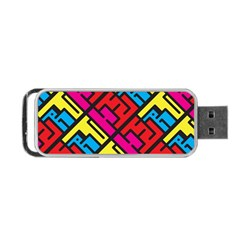 Hert Graffiti Pattern Portable Usb Flash (two Sides) by Nexatart