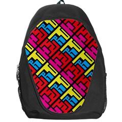 Hert Graffiti Pattern Backpack Bag by Nexatart