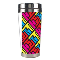 Hert Graffiti Pattern Stainless Steel Travel Tumblers by Nexatart