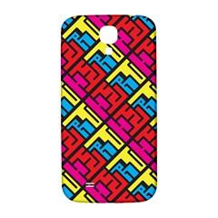 Hert Graffiti Pattern Samsung Galaxy S4 I9500/i9505  Hardshell Back Case