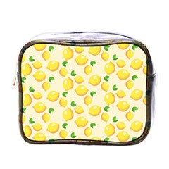 Lemons Pattern Mini Toiletries Bags