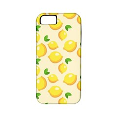Lemons Pattern Apple Iphone 5 Classic Hardshell Case (pc+silicone)