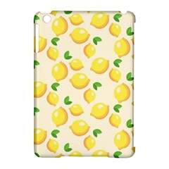 Lemons Pattern Apple Ipad Mini Hardshell Case (compatible With Smart Cover) by Nexatart