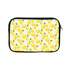 Lemons Pattern Apple Ipad Mini Zipper Cases by Nexatart