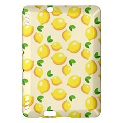 Lemons Pattern Kindle Fire Hdx Hardshell Case