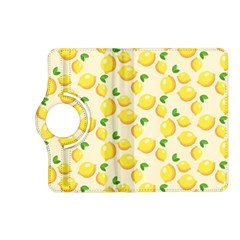 Lemons Pattern Kindle Fire Hd (2013) Flip 360 Case by Nexatart