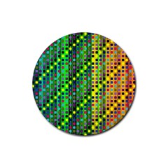Patterns For Wallpaper Rubber Round Coaster (4 Pack)