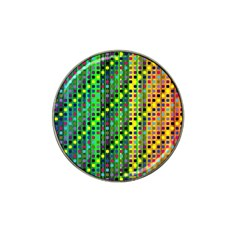 Patterns For Wallpaper Hat Clip Ball Marker (10 Pack) by Nexatart
