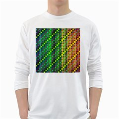 Patterns For Wallpaper White Long Sleeve T Shirts