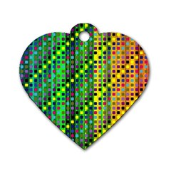 Patterns For Wallpaper Dog Tag Heart (one Side)