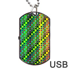 Patterns For Wallpaper Dog Tag Usb Flash (one Side)