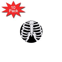 X Ray 1  Mini Buttons (10 Pack)  by Valentinaart
