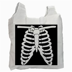 X Ray Recycle Bag (one Side) by Valentinaart