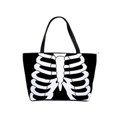 X Ray Shoulder Handbags by Valentinaart