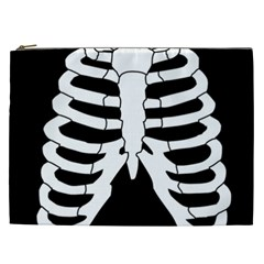 X Ray Cosmetic Bag (xxl)  by Valentinaart
