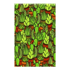 Cactus Shower Curtain 48  X 72  (small)  by Valentinaart