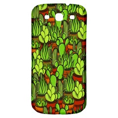 Cactus Samsung Galaxy S3 S Iii Classic Hardshell Back Case by Valentinaart