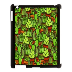 Cactus Apple Ipad 3/4 Case (black) by Valentinaart