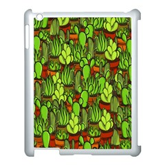 Cactus Apple Ipad 3/4 Case (white) by Valentinaart