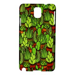 Cactus Samsung Galaxy Note 3 N9005 Hardshell Case by Valentinaart