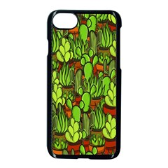 Cactus Apple Iphone 7 Seamless Case (black) by Valentinaart