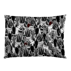Cactus Pillow Case (two Sides) by Valentinaart