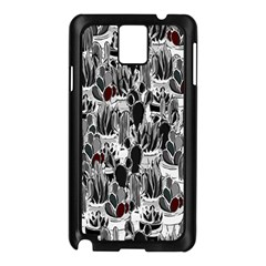 Cactus Samsung Galaxy Note 3 N9005 Case (black) by Valentinaart
