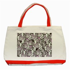 Cactus Classic Tote Bag (red) by Valentinaart