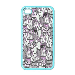 Cactus Apple Iphone 4 Case (color) by Valentinaart