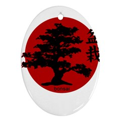 Bonsai Ornament (oval) by Valentinaart