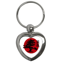 Bonsai Key Chains (heart)  by Valentinaart